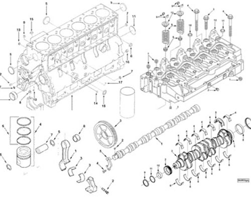 CUMMINS 4BT6BT Engine Parts