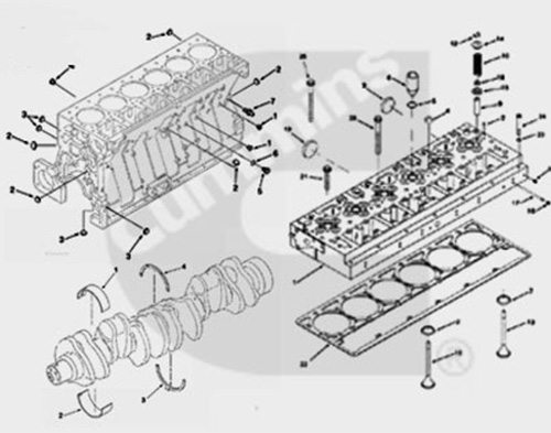 CUMMINS-ISME345-30-Engine-Parts